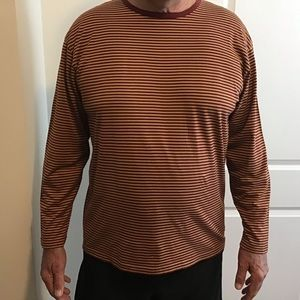 Tommy Hilfiger striped, long sleeve tee. XL